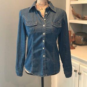 Tommy Hilfiger Button Down Jean Shirt